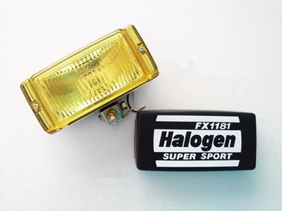 Super Sport Spot Light BH-1011 12V (Amber/Clear) *Made in Taiwan